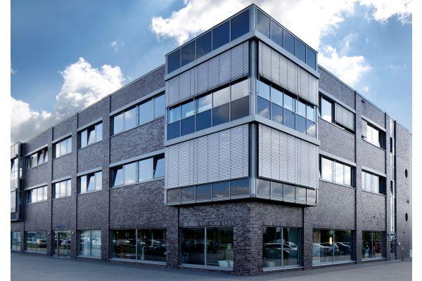 Das Bild zeigt das Wesemeyer-Firmengebäude.