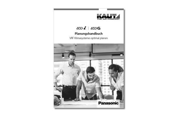 Cover des Kaut-Planungshandbuchs für VRF-Systeme von Panasonic.