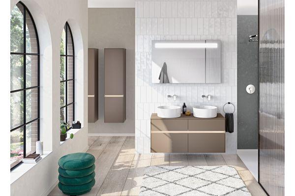 Das Bild zeigt ein von V&B ausgestattetes Badezimmer.