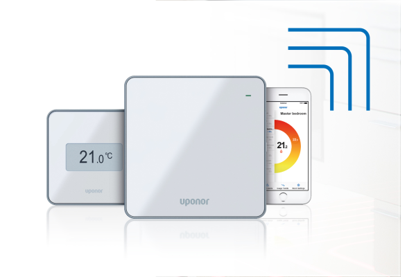 "Uponor mit Messemotto ""Smart. Connected. Innovation."""