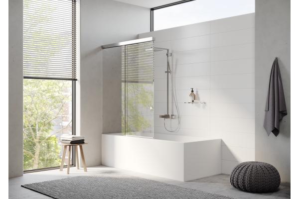 """""""Aquant 40"""" – Die innovative Duschschiebetürlösung mit Dämpfungs- und Einzugssystem"""