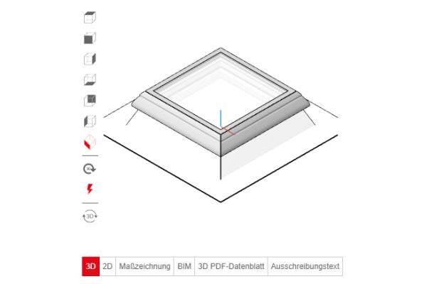 Lamilux präsentiert BIM- und Produktkonfigurator