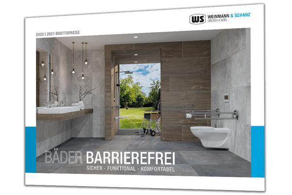 """Mit dem neuen Katalog """"BÄDER BARRIEREFREI"""" von WS Weinmann & Schanz gezielt in die Kundenberatung"""