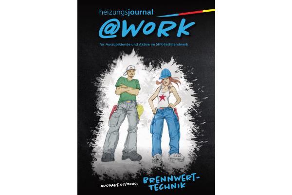 """Neu: @work zum Thema """"Brennwerttechnik"""""""