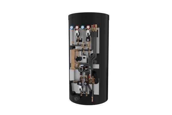Neue Hybrid-Speicherlösung im Baukastenprinzip von Kermi