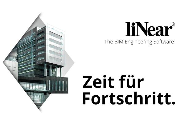 liNear erweitert Lösungen zur integralen Planung mit BIM