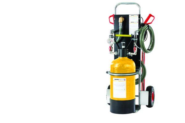 Das mobile SpiroPure ProFill für die Befüllung und Aufbereitung von Heizungswasser.