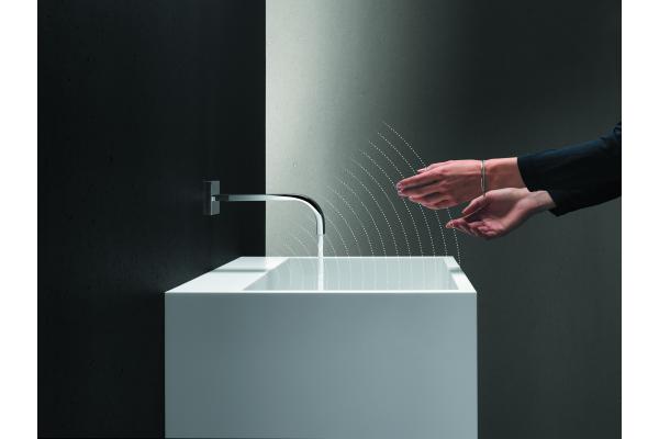 Komfortable Wassersteuerung von Dornbracht