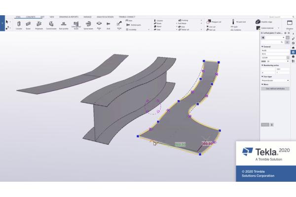 Neue Version der BIM-Software Tekla Structures