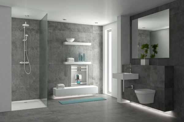 Bodengleiche Duschen: Universaladapter der Gang-Way GmbH entwässert jeden Ablauf