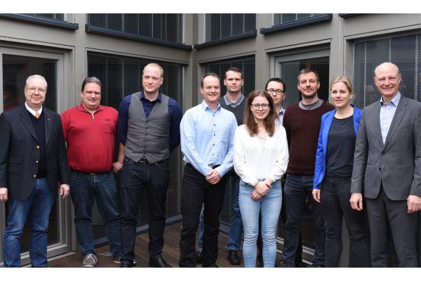 Die Kooperationspartner der TU Kaiserslautern und der Kübler GmbH Ludwigshafen im großangelegten Forschungsprojekt InfraEff.