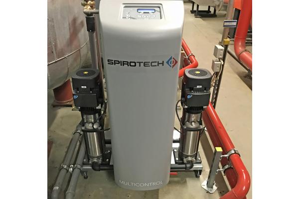 """""""Multicontrol"""" von Spirotech – optimale Druckhaltung"""