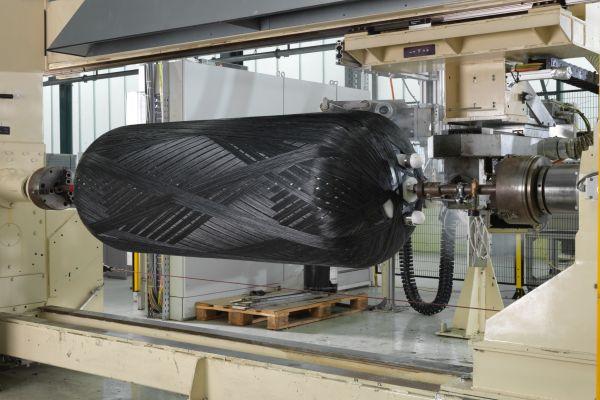 Herstellung eines Wärmespeichers.