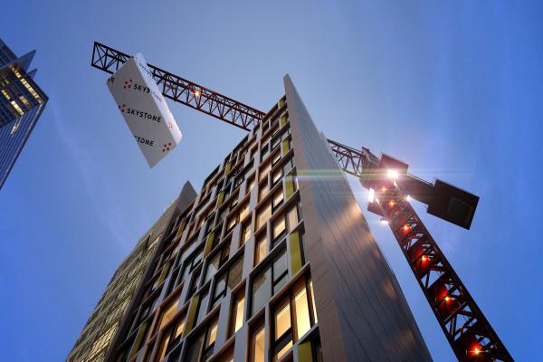 Höchstes modulares Hotel der Welt setzt auf Autodesk Technologie