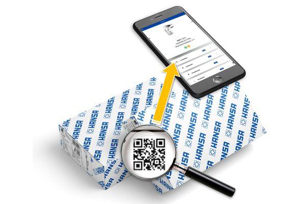Das Bild zeigt die neue Hansa-Produktverpackung.