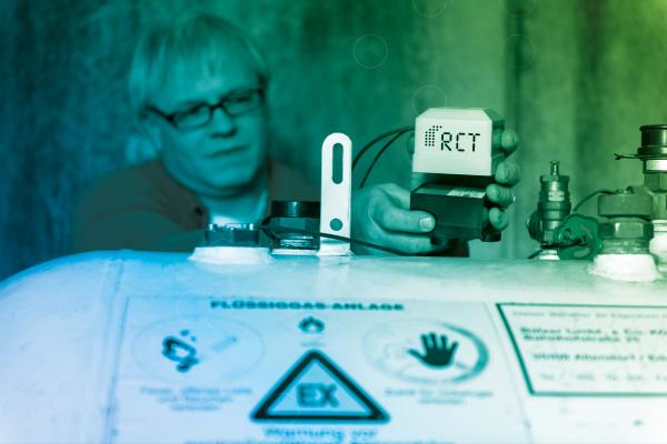 RCT: Tanküberwachung jetzt auch per Sprachsteuerung
