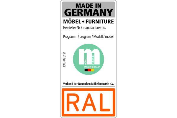 Das Bild zeigt das neue RAL-Siegel.