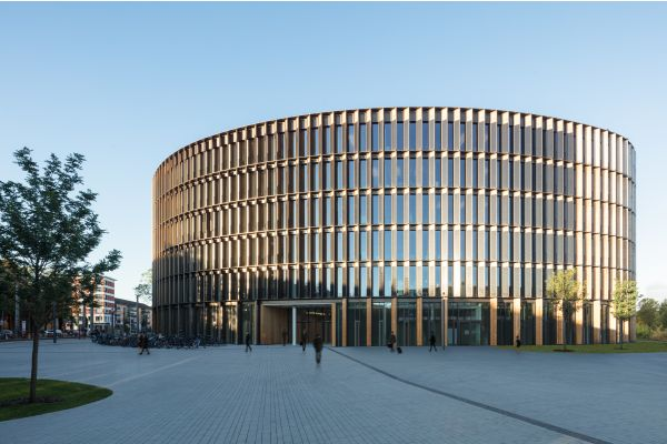Das Rathaus in Freiburg.