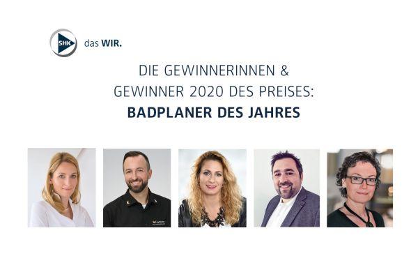 Das Bild zeigt die fünf Gewinner.