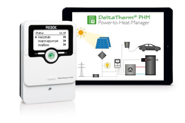 Der Power-to-Heat-Manager für die intelligente Verteilung von PV-Strom