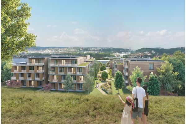 Nachhaltig Bauen im größeren Maßstab
