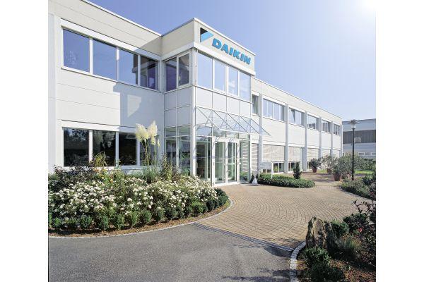 Der Daikin Produktionsstandort in Güglingen.
