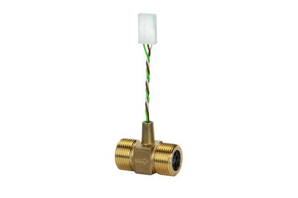 Durchflusssensor für elektrische Wohnungsstationen.