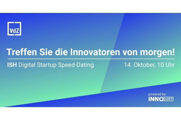 Werbung für das ISH Speed Dating 2021.