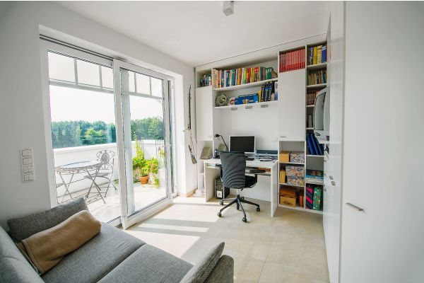 Hell, freundlich und mit Zugang auf einen Balkon - die Wohnungen in Bad Zwischenahn.