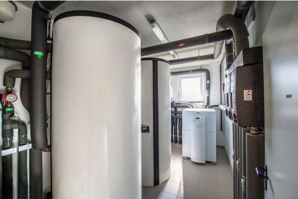 """Das Quartier """"Auf Hardenberg"""" wird über Erdwärmepumpen mit der benötigten Energie für Heizung und Warmwasser versorgt."""