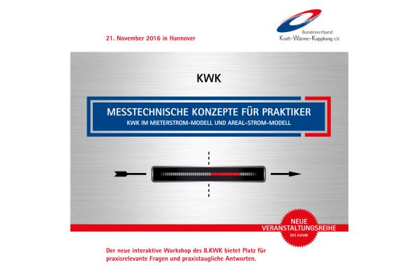 Messtechnische Konzepte für Praktiker. KWK im Mieterstrom-Modell und Areal-Strom-Modell