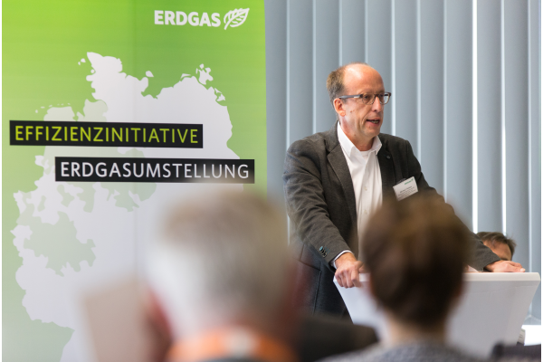 """Gründung der """"Effizienzinitiative Erdgasumstellung"""""""