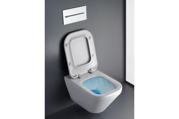 Das Bild zeigt eine Toilette von Ideal Standard, die mit der neuen