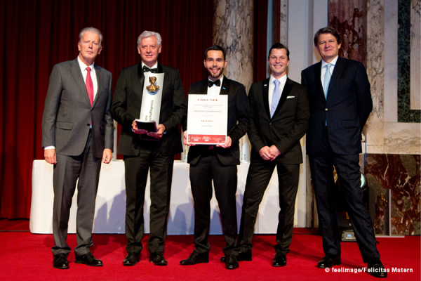 Hagleitner erhält HERMES.Wirtschafts.Preis 2016 in der Kategorie Familienunternehmen