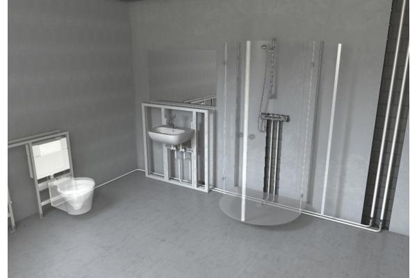 Ganzheitliche Trinkwasser- und Heizungsinstallation mit dem Roth Rohr-Installationssystem