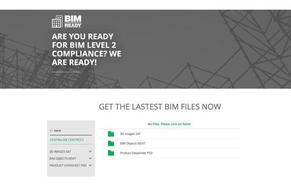 CentraLine bietet BIM-Daten zum Download