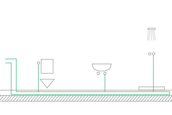 Mit Reihen- oder Ringleitungen schon bei der Planung Stagnation vermeiden