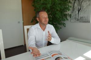 Mag. Thomas Reiter, Geschäftsführer Etherma Elektrowärme GmbH