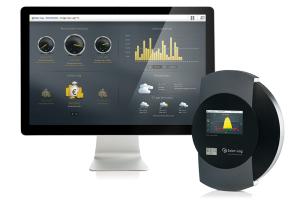 """Dashboard und Datenlogger des """"Solar-Log""""."""
