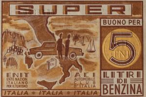 Ein italienischer Benzingutschein.