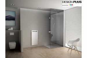 """""""Zehnder Zenia"""" ist ein innovativer Handtuchwärmer, welcher sich nahtlos in die Badarchitektur integriert und dabei für kuschelig vorgewärmte Handtücher und ein komfortables Raumklima sorgt. Dank seines integrierten Heizlüfters erlaubt """"Zehnder Zenia"""" unabhängig von der Zentralheizung flexible, rasche Wärme auf den Punkt. Seine elegante Infrarot-Glasheizfläche sorgt zusätzlich für angenehme Strahlungswärme. Für sein innovatives Produktdesign wurde der Design-Heizkörper mit dem Gütesiegel """"Design Plus powered by ISH"""" ausgezeichnet."""