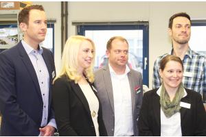 Die drei Geschäftsführer der ecom GmbH.