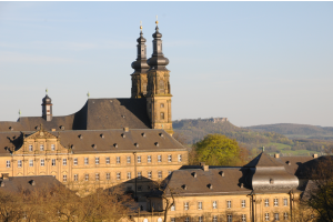 Das Kloster Banz.