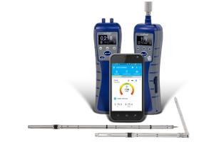 """Die neuen """"AirPro""""-Sonden sind hochpräzise thermische Anemometer und Mikromanometer."""