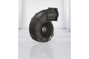 """Die neuen """"RadiCal""""-Radialventilatoren im strömungstechnisch optimierten Spiralgehäuse, hier mit """"FlowGrid"""". (Grafik: ) (Grafik: ebm-papst)"""