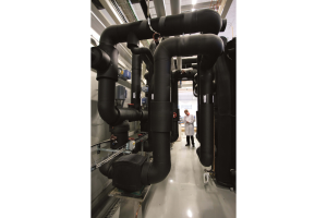 Auf einer Fläche von 3.000 m2 werden im hochmodernen Forschungs- und Entwicklungszentrum in Arvika Wärmepumpen für alle Klimaregionen der Erde entwickelt und getestet.