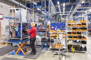 Jede Wärmepumpe, welche die Produktion im schwedischen Arvika verlässt, wird strengen Prüfprozeduren unterzogen, um einen einwandfreien Betrieb über viele Jahre hinweg zu sichern.