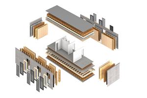 Die Grafik erklärt die modulare Bauweise des Aktivhauses.