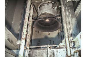 Ein alter AC-Ventilator.