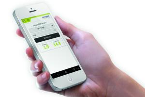 """Die App """"Valves"""" berechnet auf einem Smartphone den automatischen hydraulischen Abgleich."""